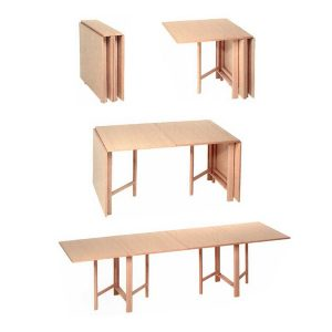 Bruno Mathsson Folding Dining Table